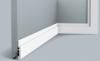 Плинтус Гибкий Orac Decor SX187F Д200xШ1.2xВ7.5 см Лепнина из Дюрополимера / Орак Декор