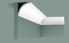 Карниз Гладкий Orac Decor CB524 Д200xШ9xВ9 см Лепнина из Дюрополимера / Орак Декор