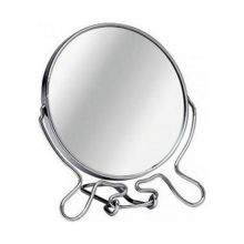 Зеркало настольное двухстороннее с увеличением, Диаметр: 22 см