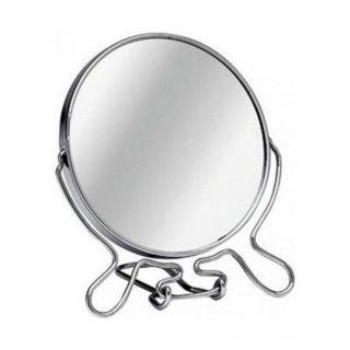 Зеркало настольное двухстороннее с увеличением, Диаметр: 18,5 см