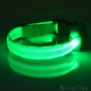 Светящийся ошейник, Зеленый