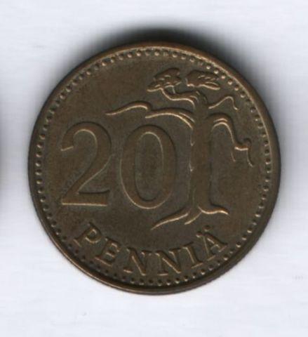 20 пенни 1974 года Финляндия
