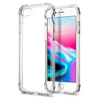 Оригинальный чехол SGP Spigen Crystal Shell для iPhone 7 кристально-прозрачный