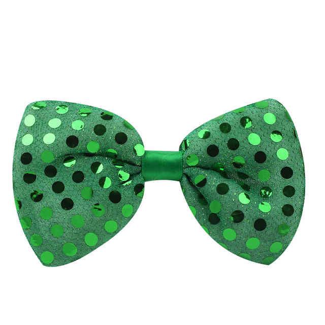 Светящаяся карнавальная бабочка, цвет зеленый