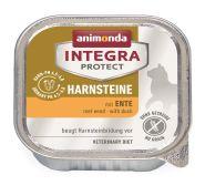 Animonda Integra конс. Urinary c уткой  д/кошек при МКБ, 100г