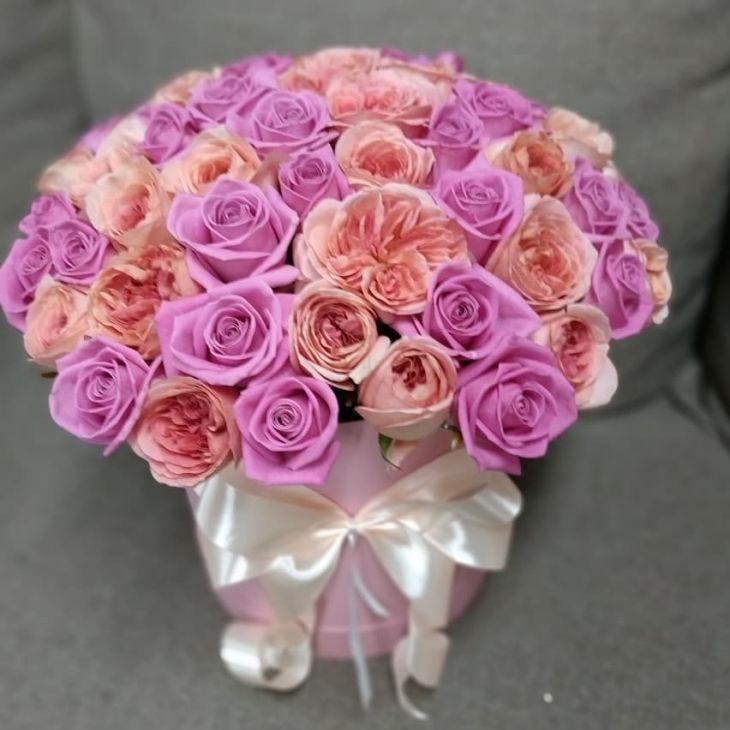 51 роза Пионовидных роз