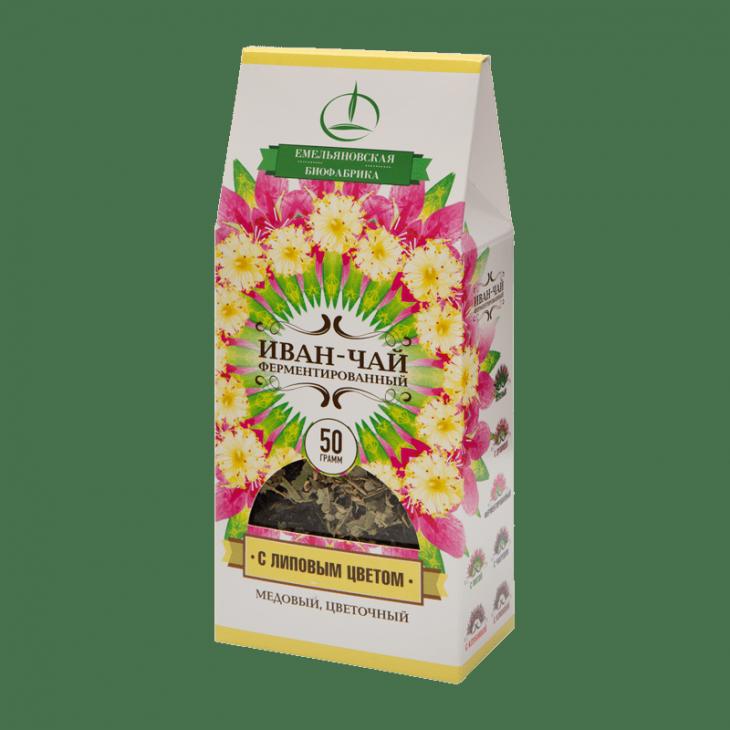 Иван-чай с липовым цветом 50г