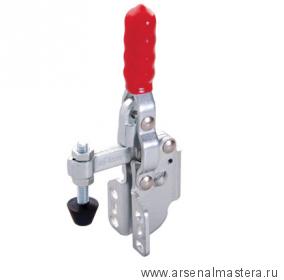 Зажим механический с вертикальной ручкой усилие 91 кг, боковой монтаж 43плюс16мм GOOD HAND GH-12050-SM