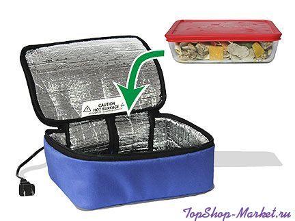 Термосумка для подогрева еды Personal Portable Oven, Цвет: Оранжевый