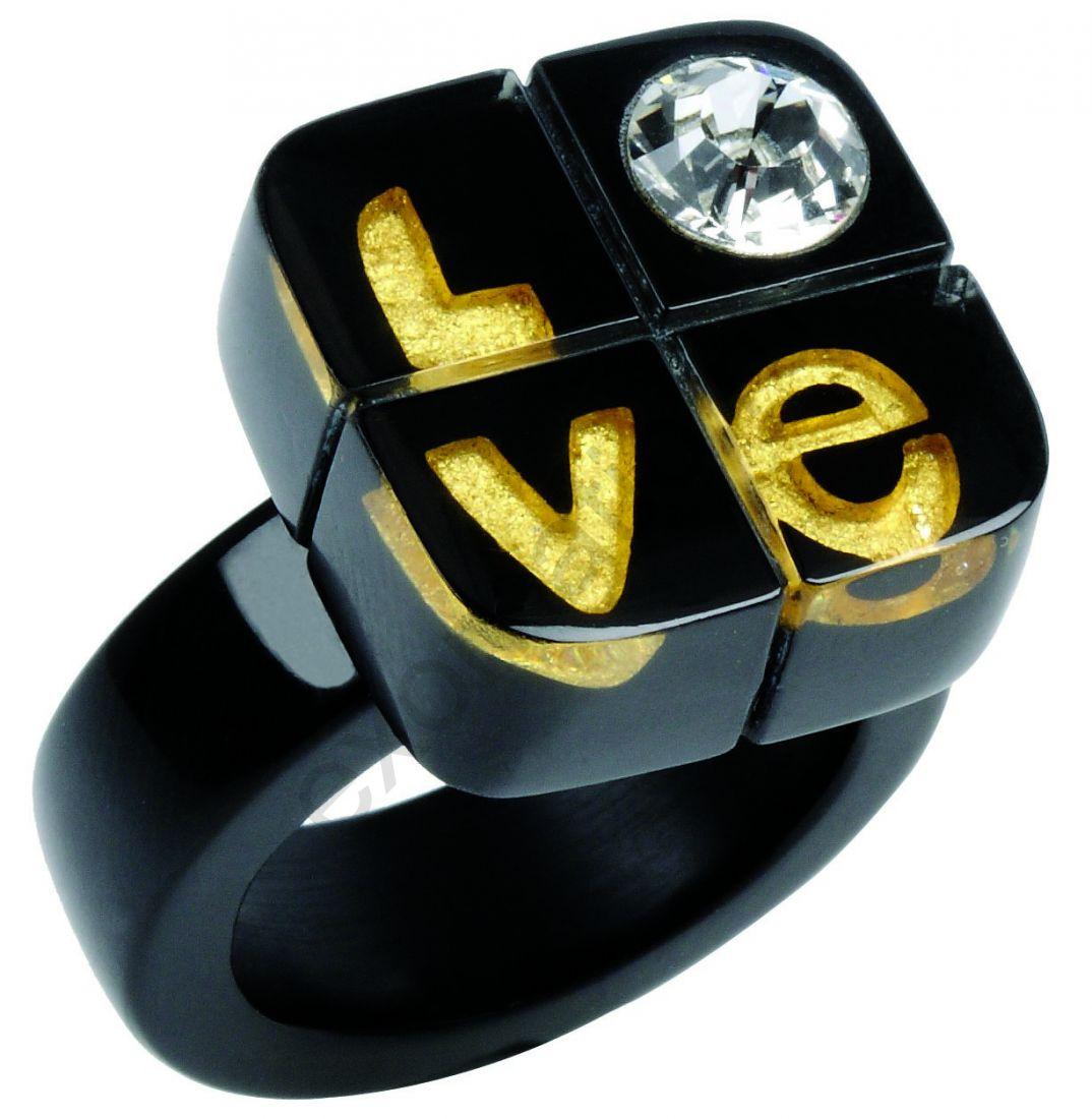 Кольцо Zsiska 0240602G001AXL. Коллекция Love