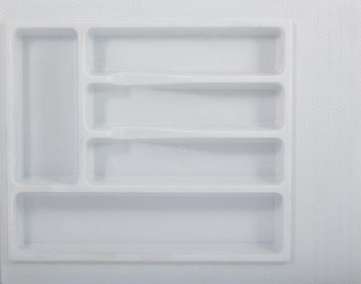 Вкладка для столовых приборов 600 мм белая