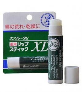 Mentholatum бальзам для губ с ментолом.