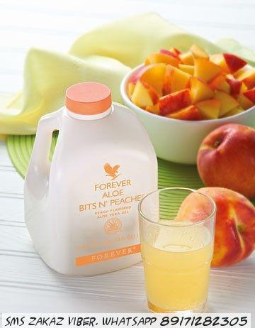 Питьевой гель алоэ вера персик