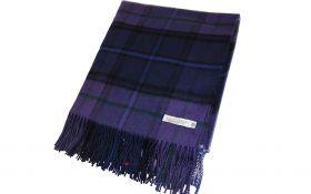 """Легкий шотландский плед, тартан """"Шотландия навсегда""""  LAMBSWOOL  SCOTLAND FOREVER, плотность 6."""