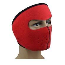 Флисовая маска для защиты от холода, Цвет: Красный