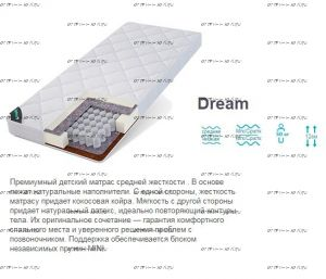 Матрас Dream Mini TFK Татами