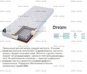 Матрас Dream Mini TFK Татами