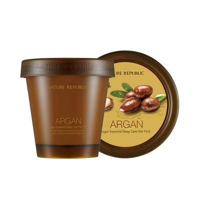 Маска для волос восстанавливающая с арганой ARGAN ESSENTIAL DEEP CARE HAIR PACK 200мл