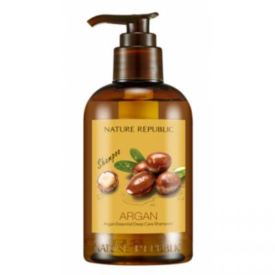 Шампунь для волос восстанавливающий с арганой ARGAN ESSENTIAL DEEP CARE SHAMPOO 300мл