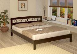 Кровать Дилес Ника с ковкой