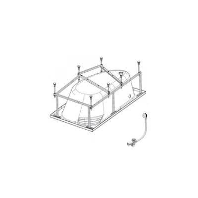 Монтажный комплект для ванны Roca 150x100 ZRU9302868