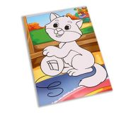 Мягкая аппликация 19х26 см. Веселый котенок (арт. А-8875)