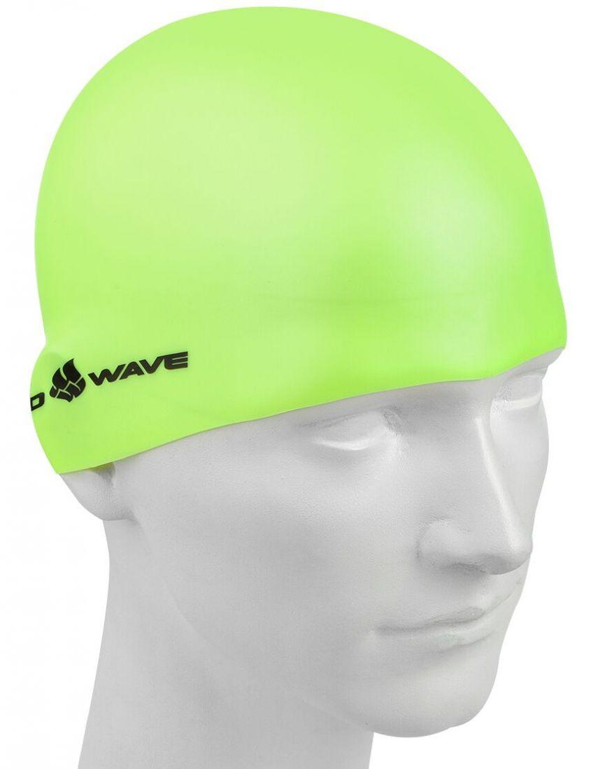 Шапочка для плавания силиконовая Mad Wave Light BIG