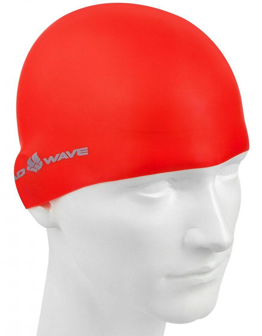 Шапочка для плавания силиконовая Mad Wave Intensive Big