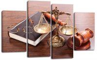 Модульная картина Справедливость