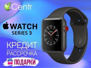 Apple iWatch S3+Cellular Silver+Black Loop 38mm