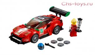 "Конструктор Lari Speeds Champion Ferrari 488 GT3 ""Scuderia Corsa"" 10943 (75886) 185 дет"