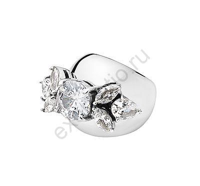 Кольцо Dyrberg Kern Yela 336949. Коллекция Ice