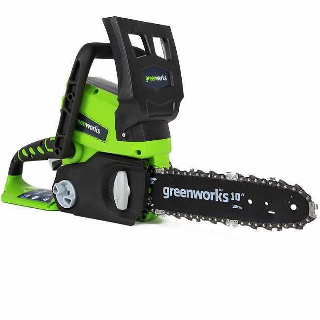 Пила цепная аккумуляторная Greenworks G24CS25 (2000007) без АКБ и ЗУ