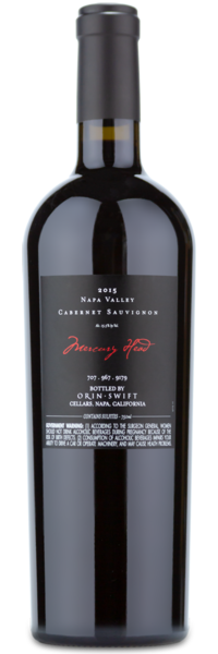 Orin Swift Mercury Cabernet Sauvignon