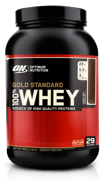 100% Whey Gold Standard от Optimum Nutrition 2lb  908 гр