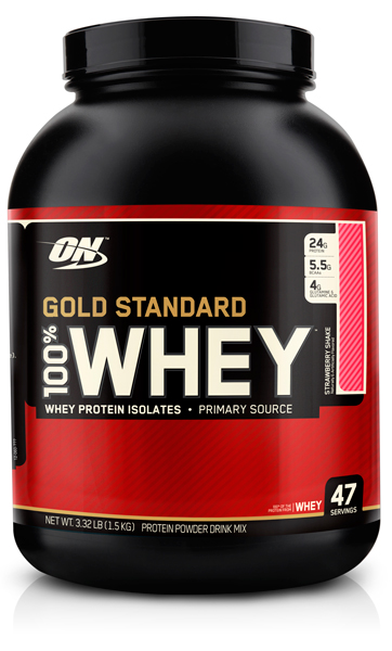 100% Whey Gold Standard от Optimum Nutrition 3.35 lb 1500 гр