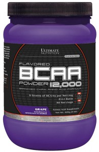 Flavored BCAA Powder 12000 от Ultimate Nutrition 228 гр