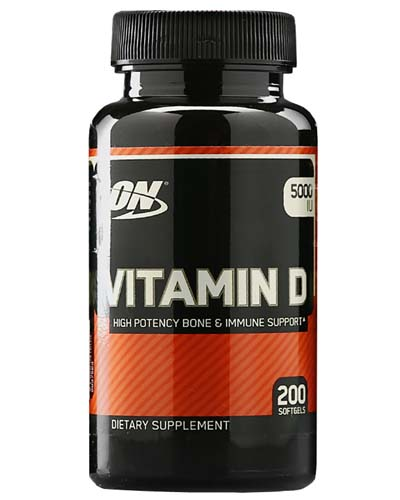 Vitamin D Optimum Nutrition (200 капсул)