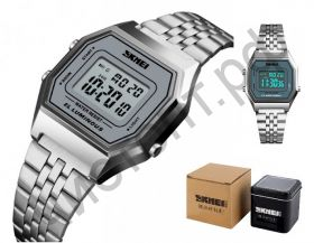 Часы наручные Skmei 1345-1 подсветка ,секундомер , будильник Высокое качество Водонепроницаемые !