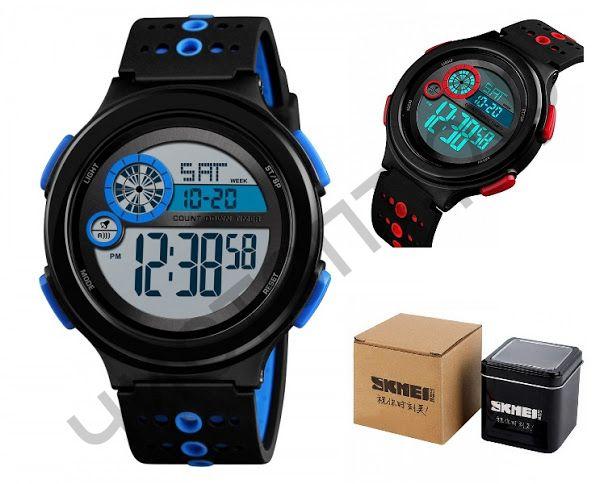 Часы наручные Skmei 1374 подсветка ,секундомер , будильник Высокое качество Водонепроницаемые !