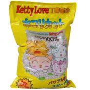 Ketty Love комкующийся наполнитель Лимон  5 л