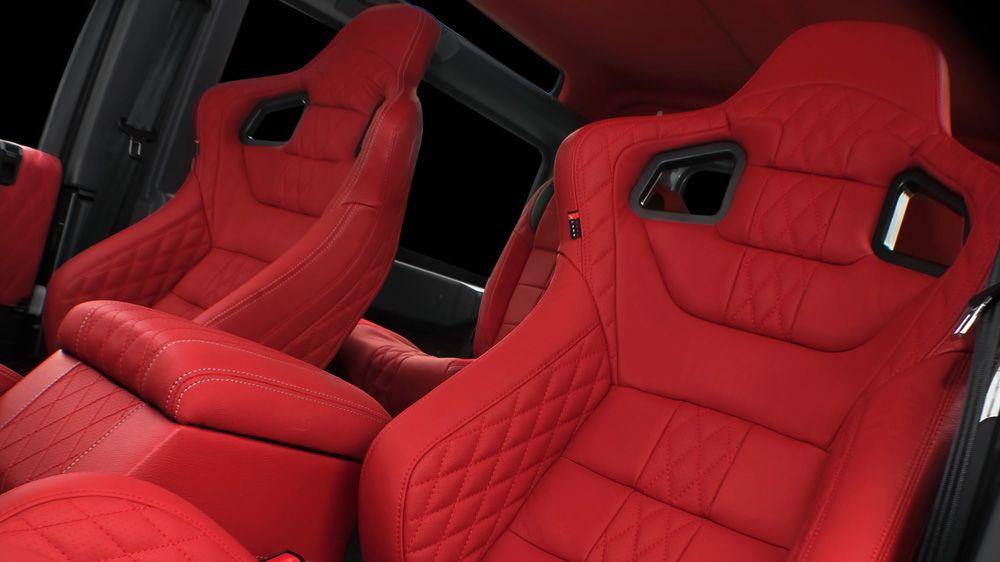 Пара спортивных сидений GTB (Land Rover Defender)