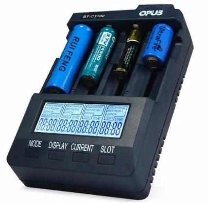 Интеллектуальное зарядное устройство OPUS для аккумуляторных батарей BT-C3100 V2.2