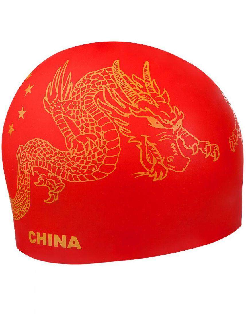 Шапочка для плавания силиконовая Mad Wave CHINA