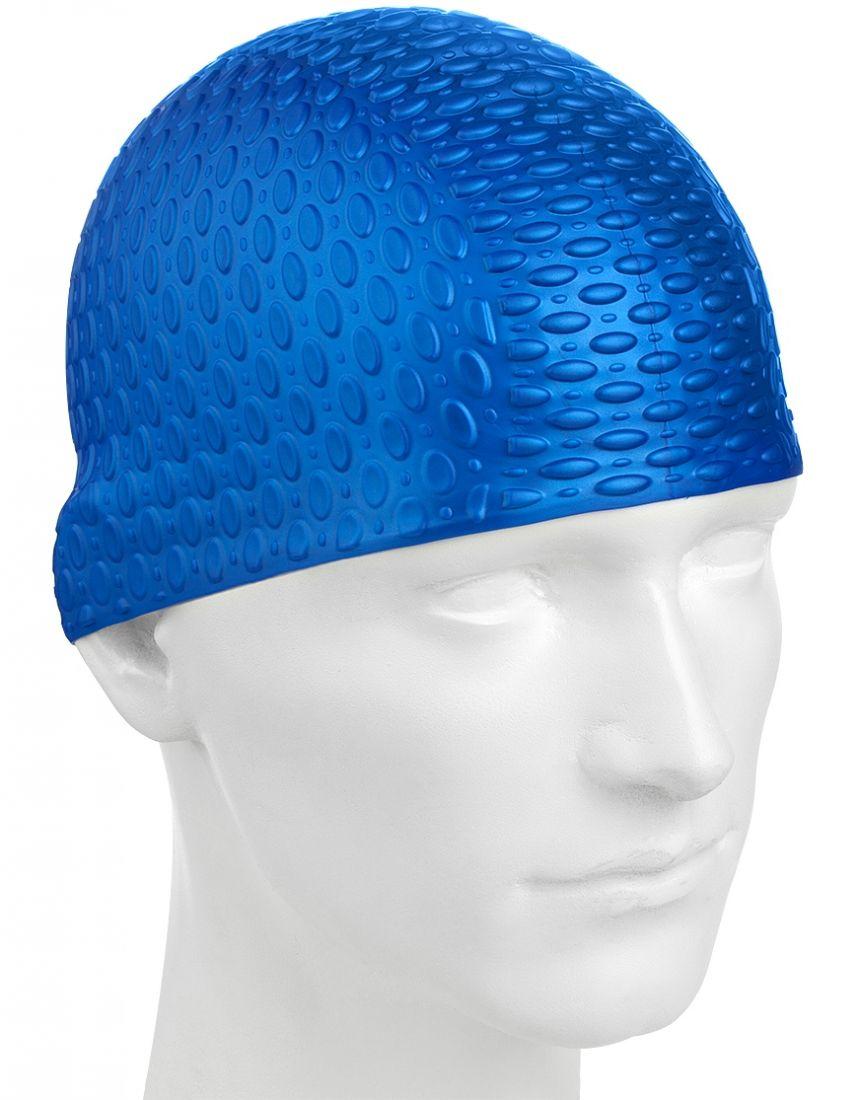 Шапочка для плавания силиконовая Mad Wave Silicone Bubble