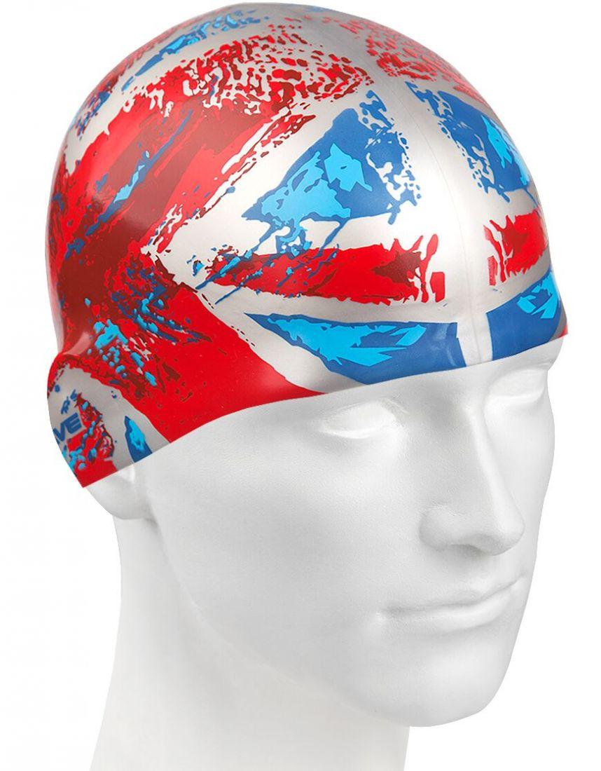 Шапочка для плавания силиконовая Mad Wave UK