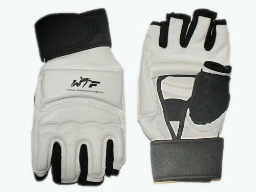 Перчатки для тхеквондо с напульсником на липучке. Размер M., артикул  27022