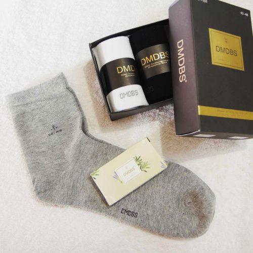 Носки мужские в коробке + МЫЛО в подарок №AF101