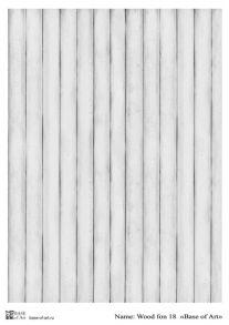 Wood  fon 18