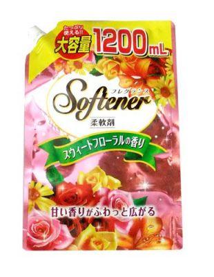 Nihon Detergent Sweet Floral Кондиционер для белья со сладким цветочным ароматом 1200 мл.
